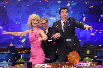 J.K. Simmons Claire Danes Visits 'The Tonight Show Starring Jimmy Fallon'