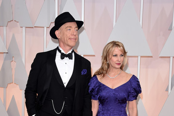J.K. Simmons Michelle Schumacher Arrivals at the 87th Annual Academy Awards — Part 3