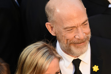 J.K. Simmons Michelle Schumacher 88th Annual Academy Awards Arrivals From a Distance