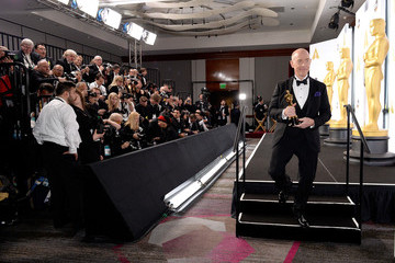 J.K. Simmons 87th Annual Academy Awards Press Room