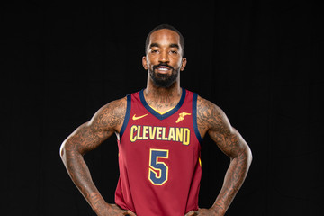 J.R. Smith Cleveland Cavaliers Media Day