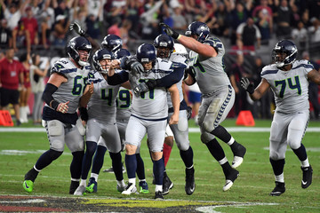 J.R. Sweezy Seattle Seahawks vs. Arizona Cardinals