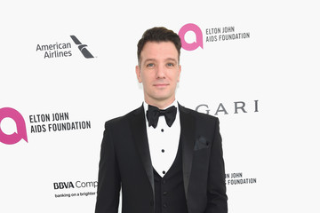 JC Chasez 24th Annual Elton John AIDS Foundation's Oscar Viewing Party - Red Carpet