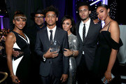 (L-R) Holly Robinson Peete, Jimmy Jam, honoree Max Harris, Lisa Harris, Tyler Harris and Bella Harris attend JDRF LA's IMAGINE Gala to benefit type 1 diabetes research at The Beverly Hilton on April 22, 2017 in Beverly Hills, California.