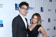 Composer Christopher French (L) and actress Ashley Tisdale attend JDRF Los Angeles chapter 2018 Imagine Gala at The Beverly Hilton Hotel on May 12, 2018 in Beverly Hills, California.