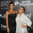Adrienne Bailon and Julissa Bermudez