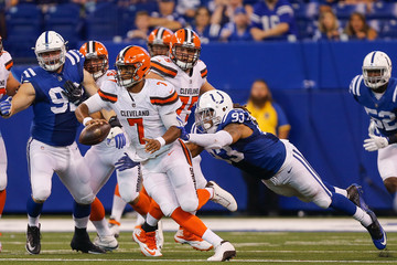 Jabaal Sheard Cleveland Browns v Indianapolis Colts