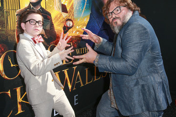 Jack Black Premiere Of Universal Pictures' 'The House With A Clock In Its Walls' - Red Carpet