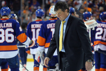Jack Capuano Florida Panthers v New York Islanders - Game Six