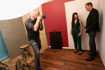 Jack Coleman Behind The Scenes Of The Getty Images Portrait Studio Powered By Samsung Galaxy At 2015 Summer TCA's