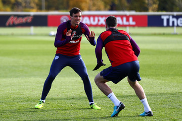 Jack Cork England Training and Press Conference