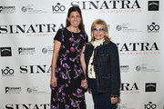 "Amanda Lambert and Nancy Sinatra attend Jack Daniel's Sinatra Select celebration of the Grammy Museum's ""Sinatra: An American Icon"" at The New York Public Library of Performing Arts on March 3, 2015 in New York City."