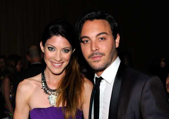 8th Annual CFDA/Vogue Fashion Fund Awards - Inside [event,fashion,smile,fun,suit,formal wear,fashion accessory,fashion design,actors,jack huston,jennifer carpenter,vogue fashion fund awards,l-r,new york city,skylight soho,cfda]