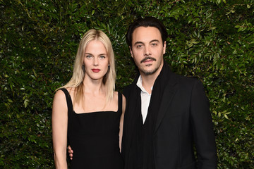 Jack Huston Shannan Click Charles Finch And Chanel Pre-Oscar Awards Dinner At Madeo In Beverly Hills
