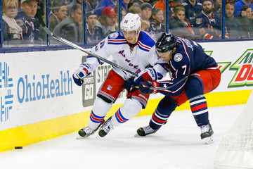 Jack Johnson New York Rangers v Columbus Blue Jackets