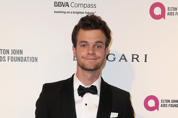 Jack Quaid Celebrities Attend an Oscar Viewing Party