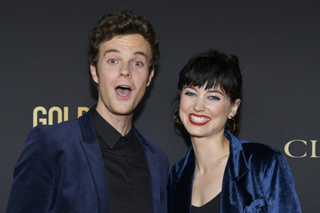Jack Quaid HFPA And THR Golden Globe Ambassador Party - Press Conference And Arrivals