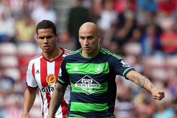 Jack Rodwell Sunderland v Swansea City - Premier League