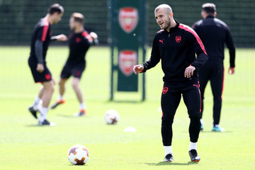 Jack Wilshere Arsenal Training And Press Conference