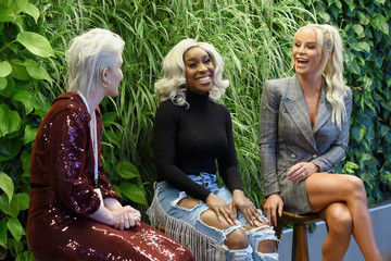 Jackie Aina The Teen Vogue Summit Los Angeles 2018 - On Stage Conversations And Atmosphere