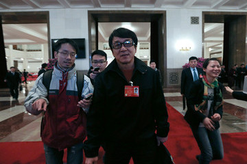 Jackie Chan China's National People's Congress: Day 3