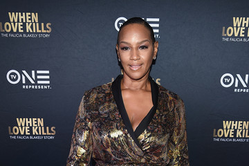 Jackie Christie 'When Love Kills: The Falicia Blakely Story' New York Premiere