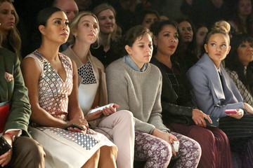 Jackie Miranne Bibhu Mohapatra - Front Row - Fall 2016 New York Fashion Week: The Shows