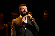 Hugh Jackman performs during the launch of the Jackman Furness Foundation for the Performing Arts (JFFPA) at the Western Australian Academy of Performing Arts on May 17, 2014 in Perth, Australia.