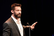 Hugh Jackman speaks at the launch of the Jackman Furness Foundation for the Performing Arts (JFFPA) at the Western Australian Academy of Performing Arts on May 17, 2014 in Perth, Australia.