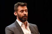 Hugh Jackman during the media conference at the launch of the Jackman Furness Foundation for the Performing Arts (JFFPA) at the Western Australian Academy of Performing Arts on May 17, 2014 in Perth, Australia.