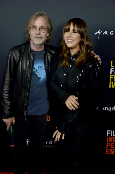 """2018 LA Film Festival - Opening Night Premiere Of """"Echo In The Canyon"""" [echo in the canyon,jacket,event,premiere,leather jacket,textile,leather,smile,performance,jackson browne,cat power,john anson ford amphitheatre,california,hollywood,opening night premiere,la film festival]"""