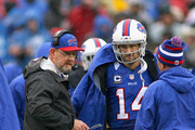 Ryan Fitzpatrick and Chan Gailey  Photos Photo