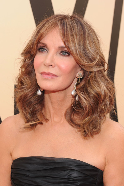 8th Annual TV Land Awards - Arrivals [hair,hairstyle,face,blond,shoulder,long hair,brown hair,eyebrow,chin,beauty,arrivals,jaclyn smith,tv land awards,culver city,california,sony studios]