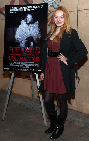 "Jacqueline Emerson - Screening Of SnagFilms' ""Beware Of Mr. Baker"" - Arrivals"