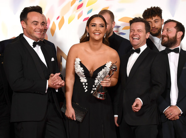 National Television Awards 2020 - Winners Room