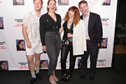John Early, Jacqueline Novak, Natasha Lyonne and Mike Birbiglia attend the opening night of 'Jacqueline Novak: Get on Your Knees' at Cherry Lane Theatre on July 22, 2019 in New York City.