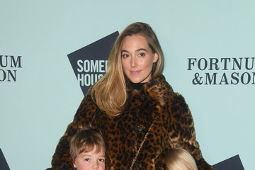 Jacqui Ainsley Skate At Somerset House With Fortnum And Mason VIP Launch - Red Carpet Arrivals