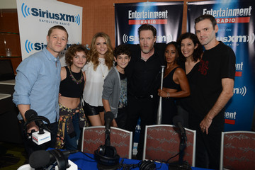 Jada Pinkett Smith Donal Logue SiriusXM's Entertainment Weekly Radio Channel Broadcasts From Comic-Con 2014