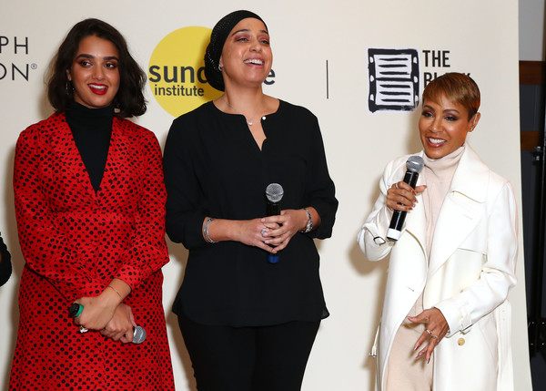 Autograph Collection Hotels And the Sundance Institute Host The 3nd Annual Power Women's Cocktail [power womens cocktail,event,employment,formal wear,hala,jada pinkett smith,jana babatunde-bey,geraldine viswanathan,executive producer,l-r,autograph collection hotels,sundance institute host,jada smith family foundation]