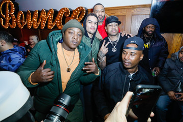 Jadakiss Trae Young The Players' Tribune + Heir Jordan Host Players' Night Out At The Royale Party At Bounce Sporting Club In Chicago