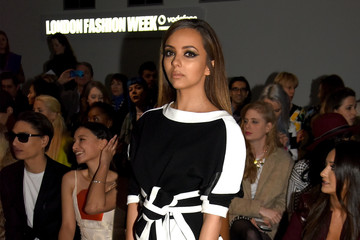 Jade Thirlwall Front Row at London Fashion Week