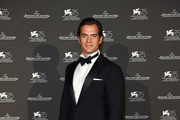 Henry Cavill arrives for the Jaeger-LeCoultre Gala Dinner during the 75th Venice International Film Festival at Arsenale on September 4, 2018 in Venice, Italy.