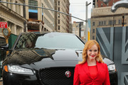 Jaguar Reveals All-New All-Aluminum XF In Flatiron District Of New York City