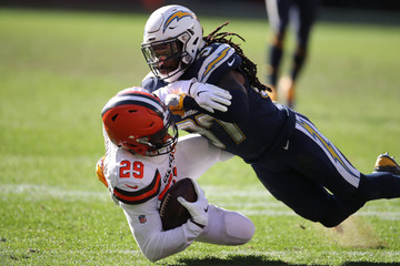 Jahleel Addae Los Angeles Chargers vs. Cleveland Browns