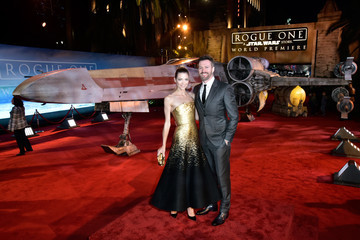 Jaime King Kyle Newman The World Premiere of 'Rogue One: A Star Wars Story'