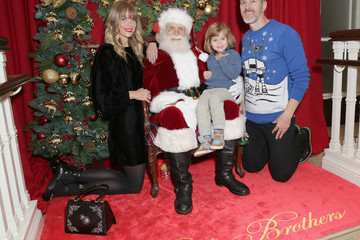 Jaime King Kyle Newman Brooks Brothers Celebrates the Holidays With St. Jude Children's Research Hospital