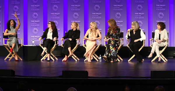 The Paley Center For Media's 35th Annual PaleyFest Los Angeles - 'Mom' - Inside [television show,entertainment,performance,performing arts,event,dance,choreography,talent show,performance art,musical theatre,public event,mom,nischelle turner,allison janney,mimi kennedy,anna faris,l-r,los angeles,paley center for media,paleyfest]