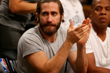 Jake Gyllenhaal Miami Heat v Brooklyn Nets - Game Three