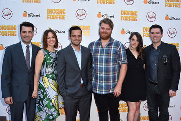 Jake Johnson Celebrities Attends the Premiere of 'Digging For Fire'