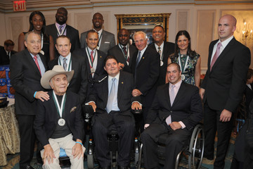 Jake LaMotta 27th Annual Great Sports Legends Dinner To Benefit The Buoniconti Fund To Cure Paralysis - Legends Reception